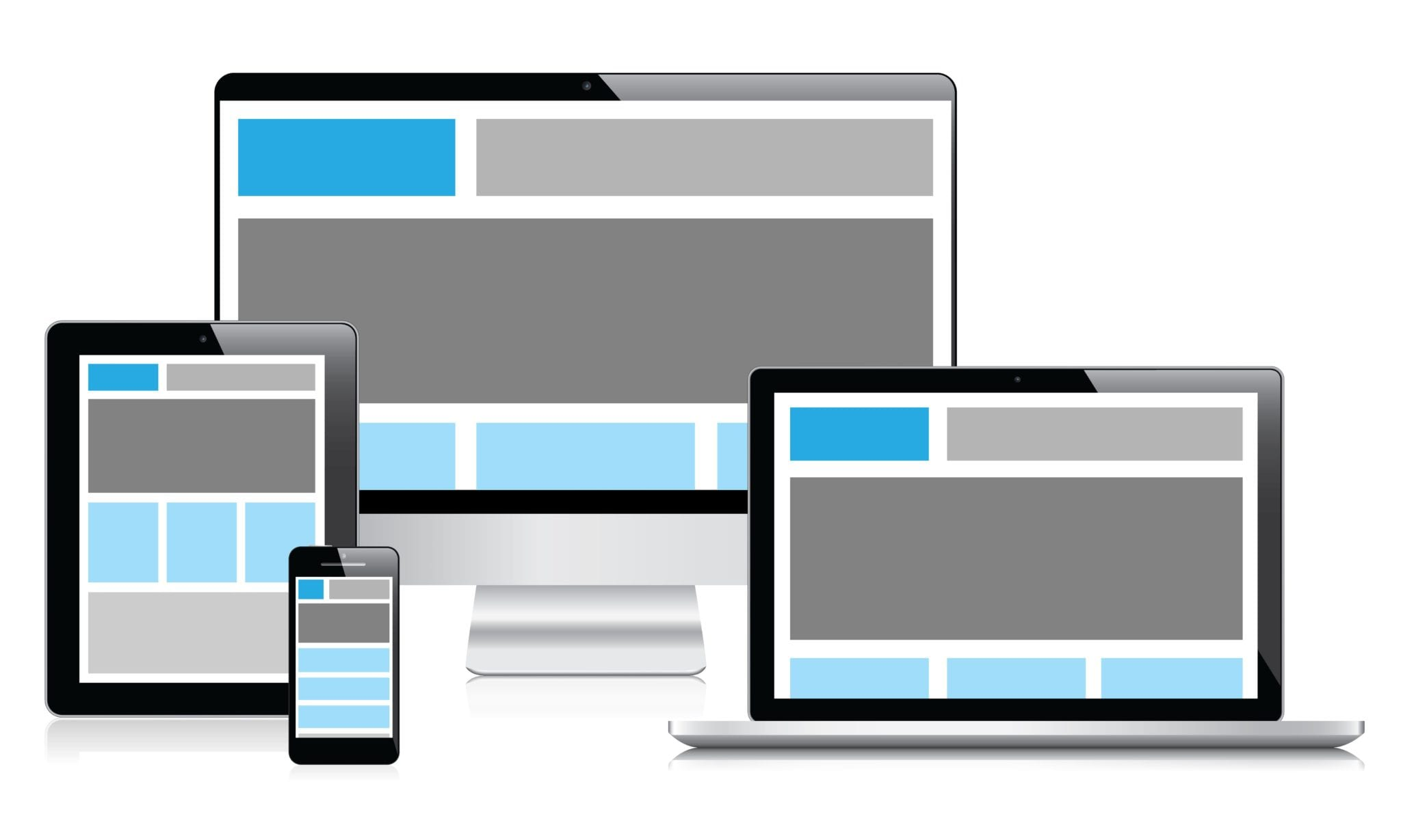 What is responsive design and what does it do?