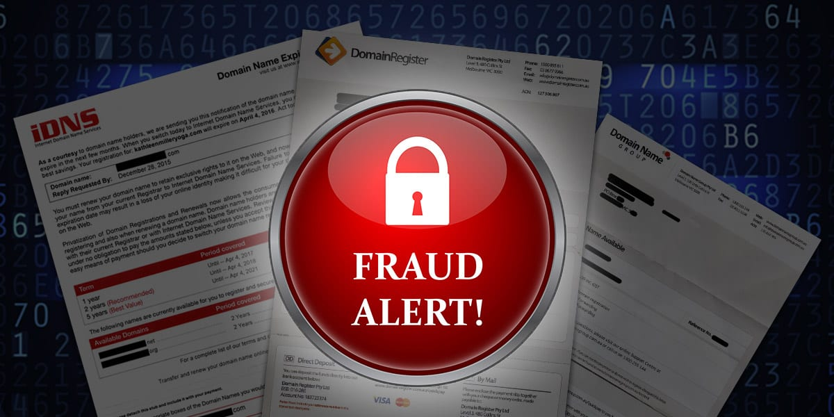 Don't be Fooled by Domain Registry Scams!